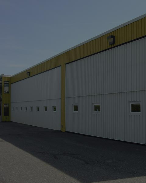 Installation de Porte de garage commerciale
